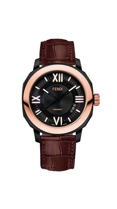 Fendi Timepieces Selleria Man F820211011 42 mm Mens Watch