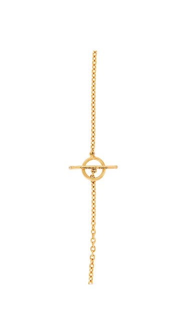 Yossi Harari Jewelry Roxanne 24k Gold Pave Diamond Melissa Necklace