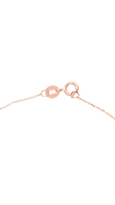 Julianne Himiko White and Rose Gold Diamond Star Necklace