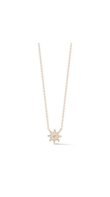 Jennifer Yamina Pendant Necklace 14k Rose Gold Necklace