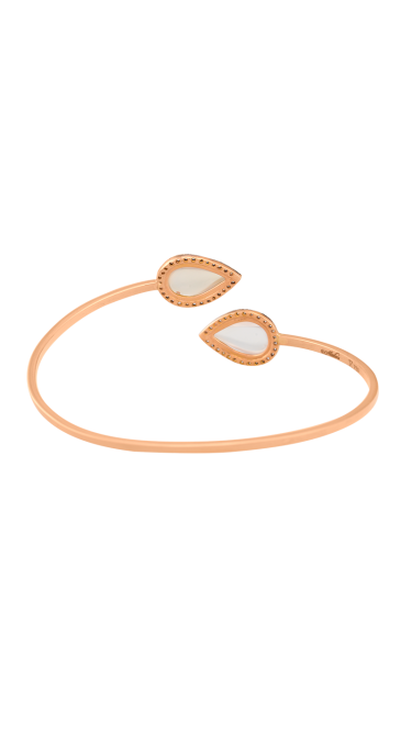 Time Calming Duality Rose Gold Bracelet