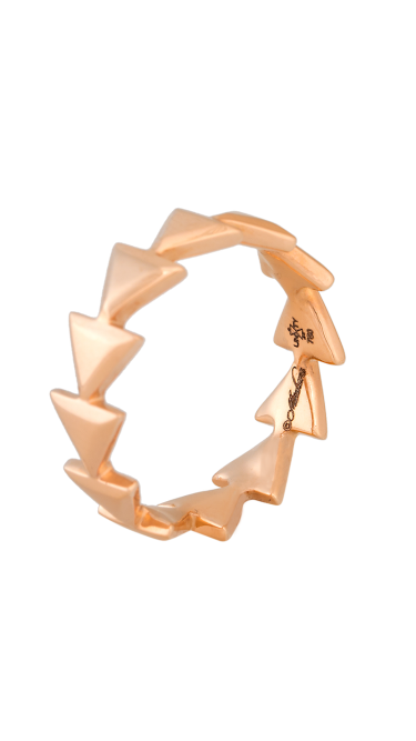 Unity Eternal Rose Gold Ring
