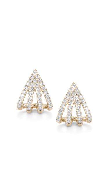 Sarah Leah 14k Yellow Gold Earrings