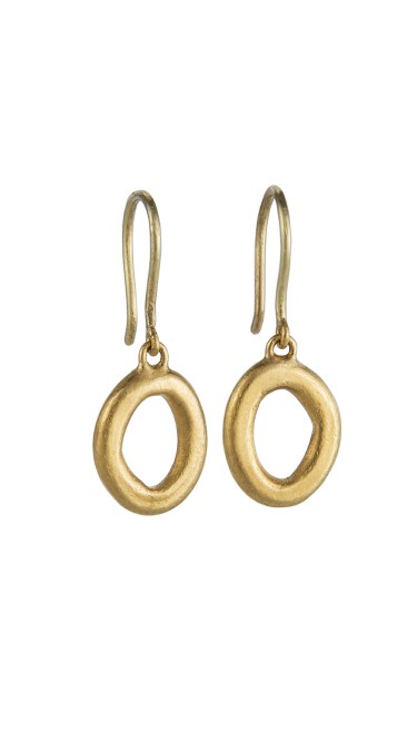 Yossi Harari Jewelry Roxanne 24k Gold Openwork Melissa Earrings