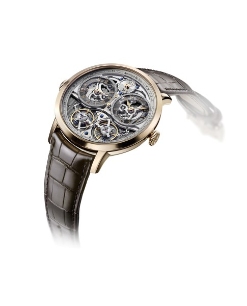 Arnold & Son DBG Skeleton 1DGAP.S10A Watch