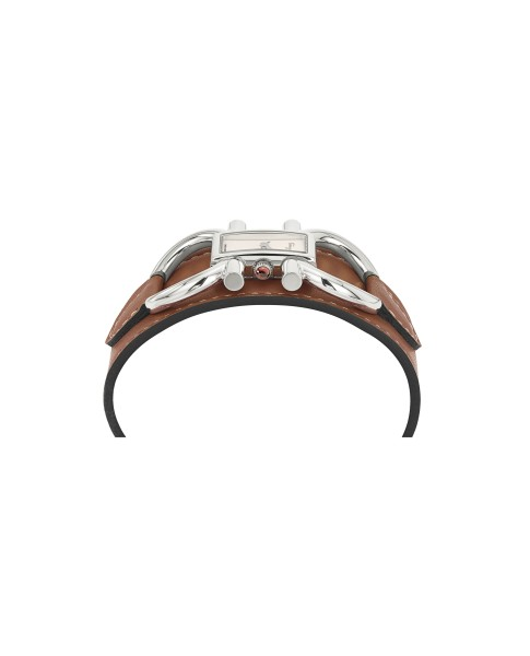 Ferragamo White 13 x 23mm