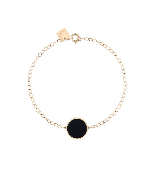 Ever Onyx Disc Bracelet