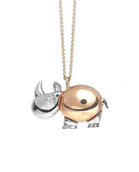 Rhinoceros Necklace