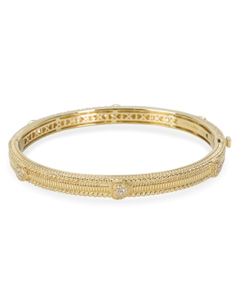Judith Ripka 18K Yellow Gold Diamond Bracelet