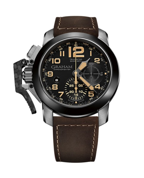 Graham Chronofighter Steel And Target 2CCAC.B02A.L134S 47mm Mens Watch