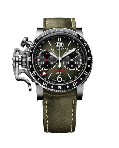 Graham Chronofighter Vintage Gmt 2CVBC.G01A.L141S 44mm Mens Watch