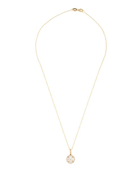 Mosaic Collection 18K Yellow Gold Diamonds Necklace