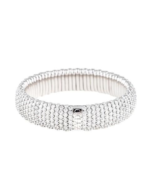 Stretch Collection 18K White Gold Diamonds Bracelet