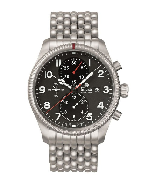 Tutima Glashütte Grand Flieger Chronograph 6402-02