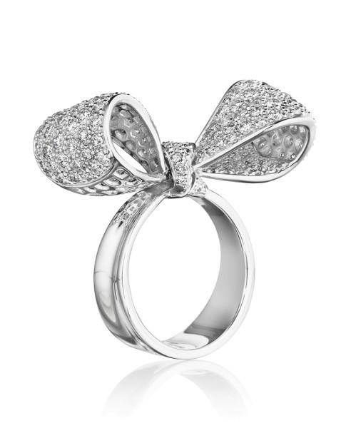 18K Gold Mid (SMD) Diamond Ring