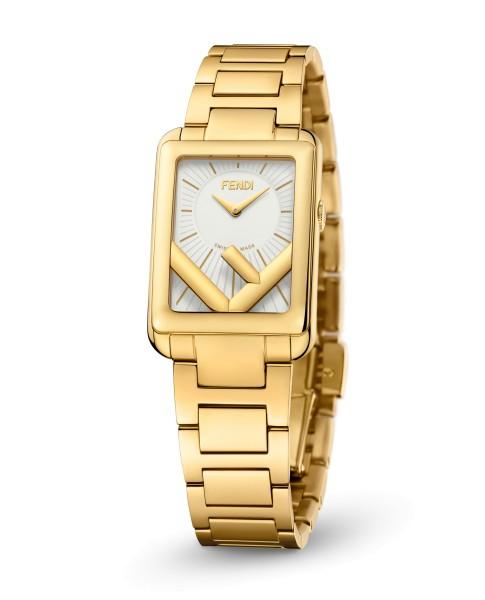 Fendi Timepieces Silver-whte 22.5 x 32 mm F107040301