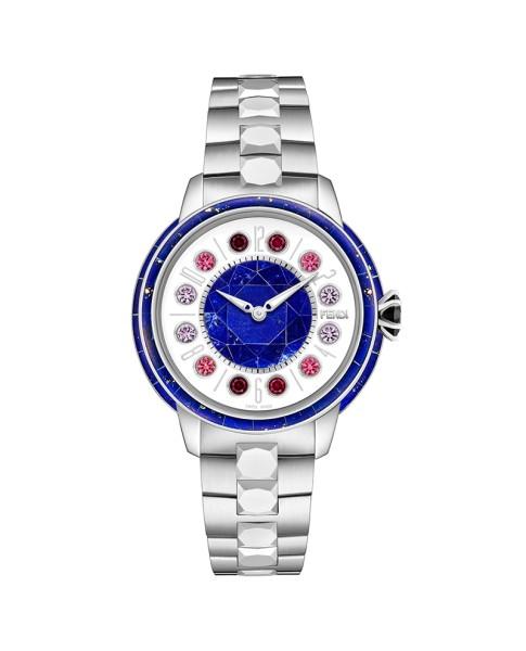 Fendi IShine White and blue 33 mm F127023500T01