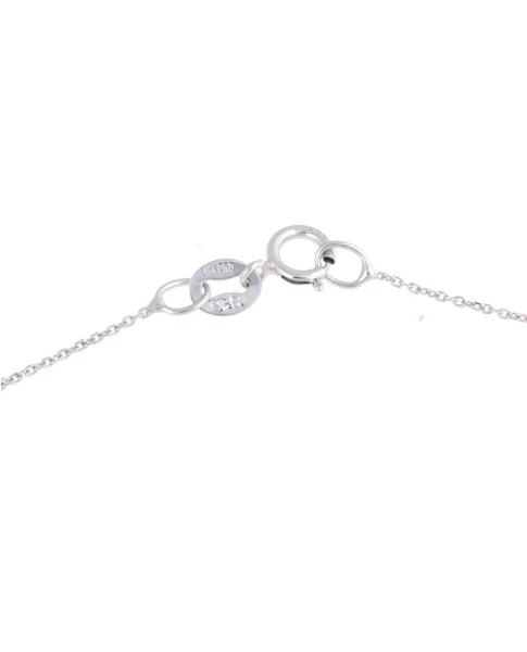 Sylvie Rose White Gold Mini Bar Necklace