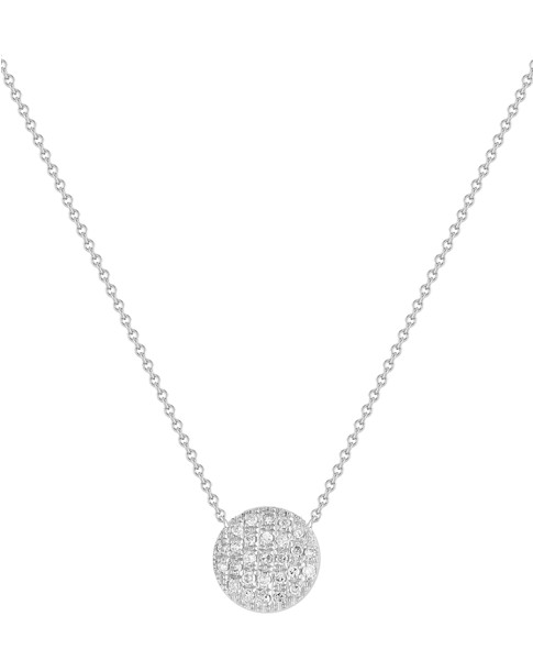 White Gold Lauren Joy Medium Necklace
