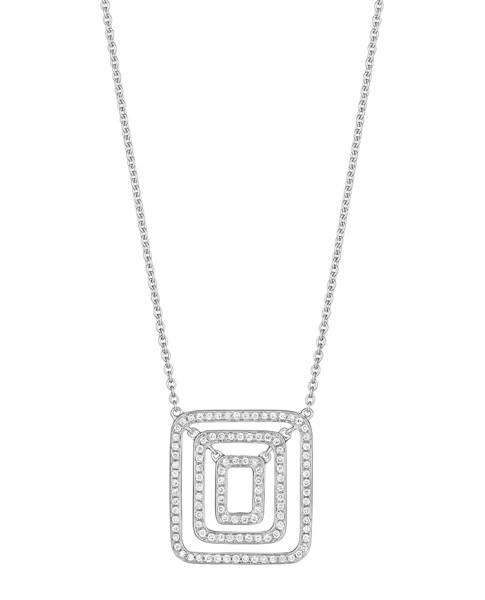 Piece Swing Diamond Necklace (Small)