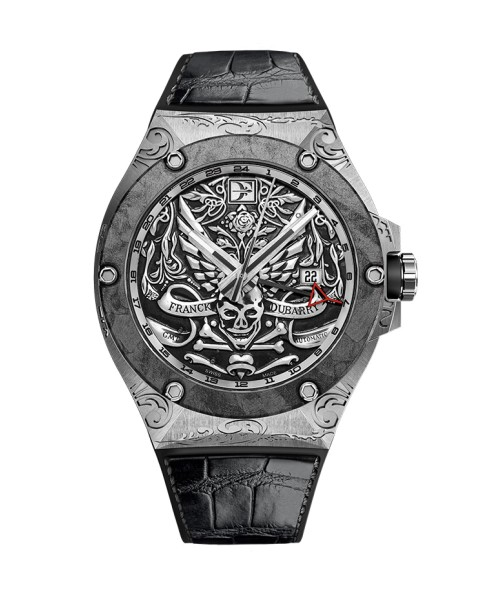 Franck Dubarry Fileteado GMT REV-0401 43.5mm Mens Watch (Pre-Order)