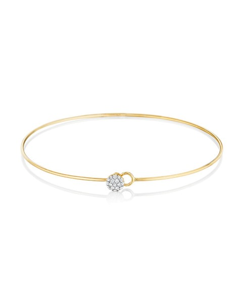 Yellow Gold Love Always Bracelet