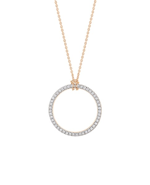 Mini Diamond Circle On Chain