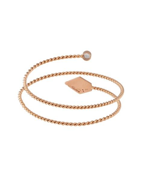 Misahara Drina Double Coil Bracelet 18k Rose Gold Bracelet