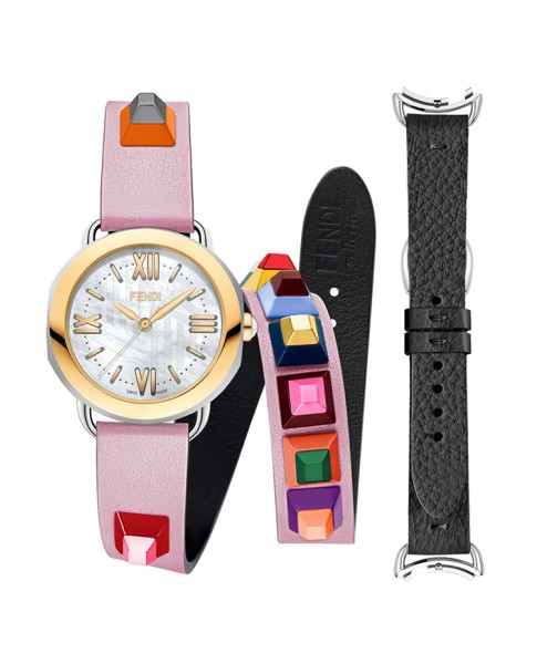 Fendi Timepieces Selleria Set F8091345U7A7 36 mm Womens Watch