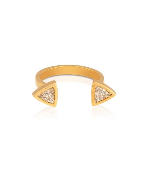Mimi So Jackson Open Finger Ring Size 6.5