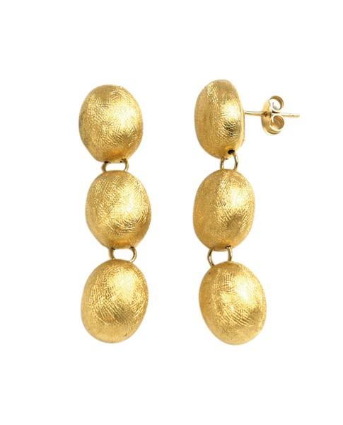 Dancing in the Rain Gold 18kt Earrings