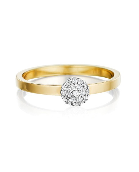 Yellow Gold Affair Stack Ring