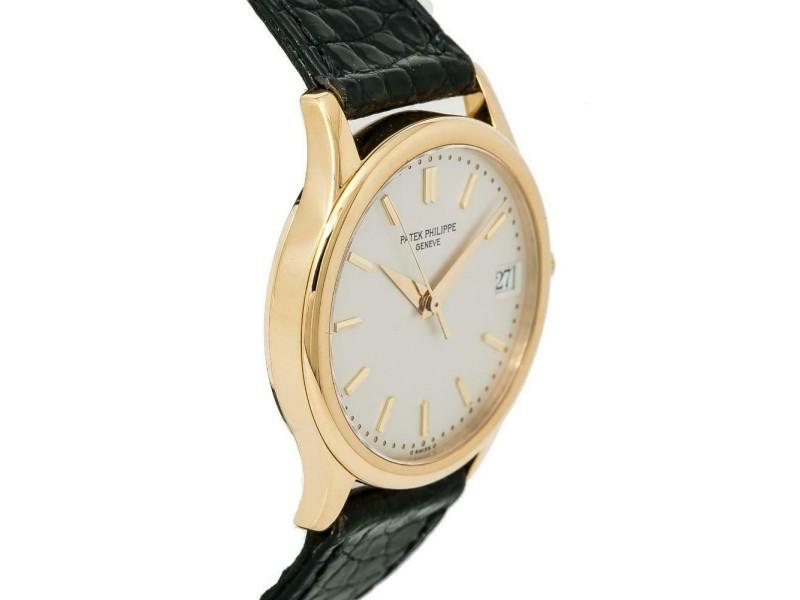 dee2e850e Patek Philippe Calatrava 3998 Unisex Automatic Watch 18K YG Cream Dial  34MM. 1