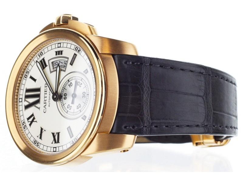 597b451058a Cartier Calibre De W7100009 42mm Mens Watch. 1