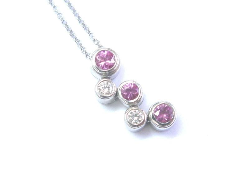 tiffany amp co platinum bubble 50ct diamonds amp pink