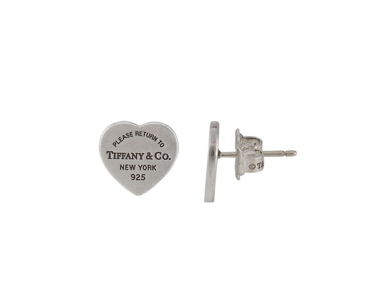 533944b7a Tiffany & Co. Sterling Silver Return To Tiffany MIni Heart Tag ...