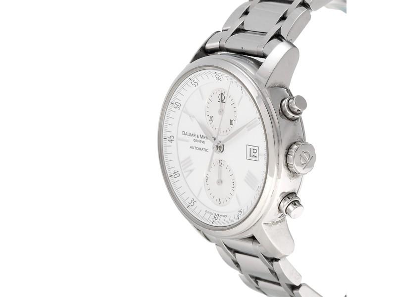 d9176e7a42eeb9 Baume & Mercier Classima 65591 8732 Executive XL Chronograph 42mm Mens Watch.  1