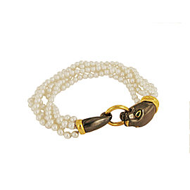 Cartier Panthere Pearl Bracelet