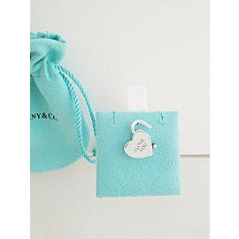 Tiffany & Co. Sterling Silver I Love You Heart Padlock Pendant