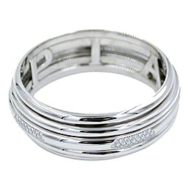 Piaget 18K White Gold Possession Diamonds Bangle