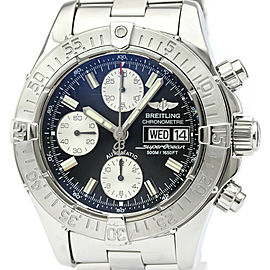 Polished BREITLING Chrono Super Ocean Steel Automatic Mens Watch A13340