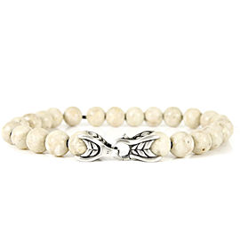 David Yurman Spiritual Bracelet Sterling Silver Riverstone Beads