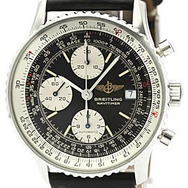 BREITLING Old Navitimer Steel Automatic Mens Watch A13019