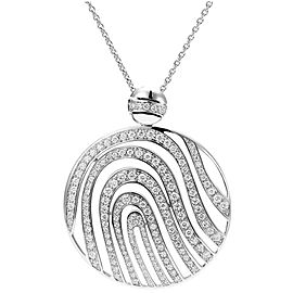 Piaget G36P6417 18K White Gold Diamond Necklace