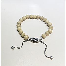 David Yurman Spiritual Bead Bracelet with River Stone