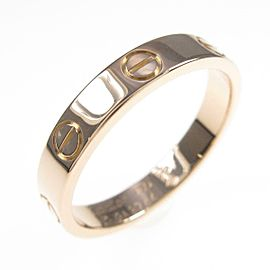 Cartier 18K Pink Gold Mini Love ring TkM-123