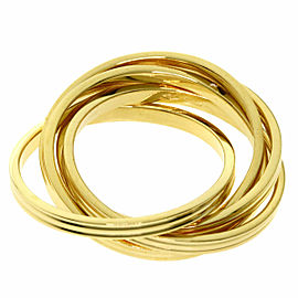 GUCCI 18K Yellow Gold 5 hooks Gold Ring