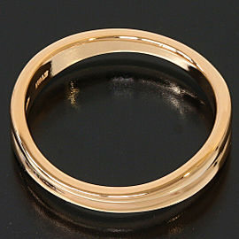Tiffany & Co. 18K Rose Gold Design Band Ring US5.75