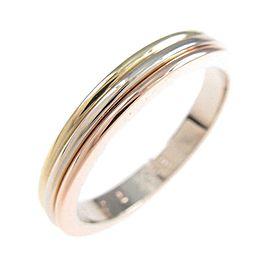 Cartier 18K Pink Gold/18K Yellow Gold/18K White Gold Three Gold Wedding Ring TkM-201