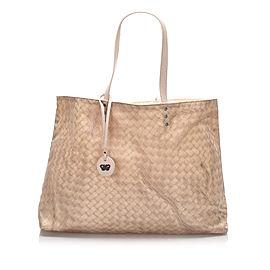 Intrecciomirage Nylon Tote Bag
